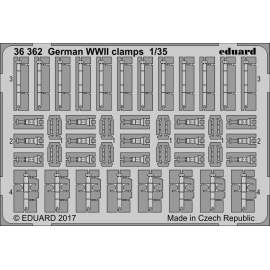 Eduard 1:35 German WW2 Clamps