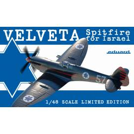 Eduard Limited Edition 1:48 Velveta/Spitfire for Israel repülő makett