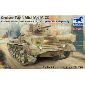 Bronco 1:35 Cruiser Tank Mk.IIA/IIA CS British Cruis Tank A10 Mk.IA/IA CS
