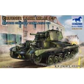 Bronco 1:35 Cruise Tank Mk.I/ICS British CruiserTank A9/A9CS