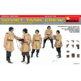 Miniart 1:35 Soviet Tank Crew (Winter Uniforms). Special Edition