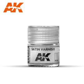 AK Real Color - Satin Varnish (selyemfényű lakk)