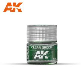AK Real Color - Clear Green (áttetsző zöld)