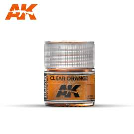 AK Real Color - Clear Orange (áttetsző narancs)
