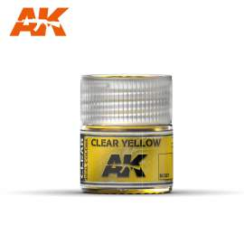 AK Real Color - Clear Yellow (áttetsző sárga)