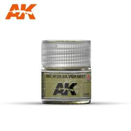 AK Real Color - BSC Nº28 Silver Grey