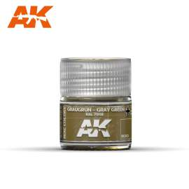 AK Real Color - Graugrün-Gray Green RAL 7008