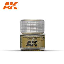 AK Real Color - Dunkelgelb Nach Muster Dark Yellow