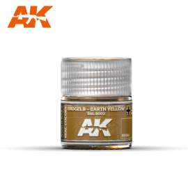 AK Real Color - Erdgelb-Earth Yellow RAL 8002