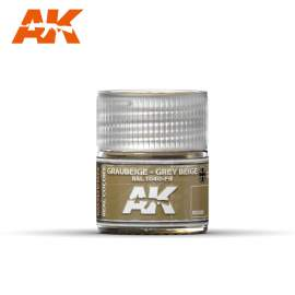 AK Real Color - Graubeige-Grey Beige  RAL 1040-F9