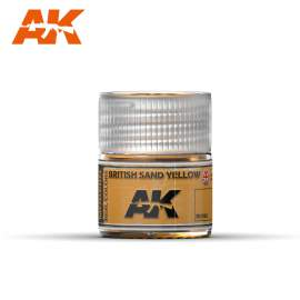 AK Real Color - British Sand Yellow (Angol homoksárga)