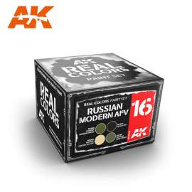 AK Real Color - Russian Modern AFV colors set