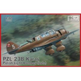 IBG Model 1:72 PZL. 23B Karaś – late production repülőgép makett