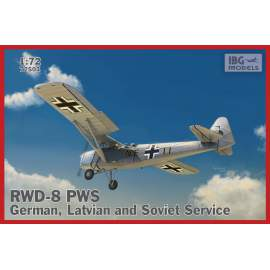 IBG Model 1:72 RWD-8 PWS – German, Latvian and Soviet service