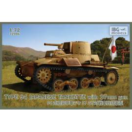 IBG Model 1:72 Type 94 Japanese tankette with 37mm gun harcjármű makett