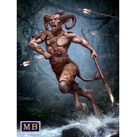 Masterbox 1:24 Ancient Greek Myths Series. Satyr figura makett