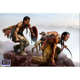 Masterbox 1:35 Indian Wars Series. Raid figura makett