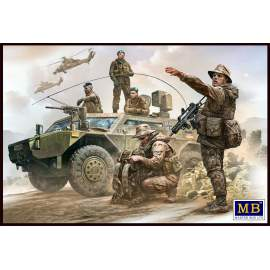 Masterbox 1:35 Bundeswehr. German Military Men, Present Day figura makett