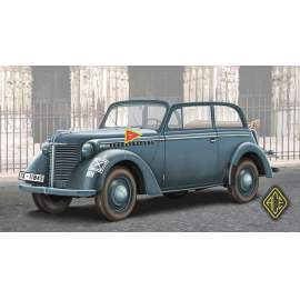 Ace Model 1:72 1938 Olympia Stabswagen (Staff Car) Cabriolet