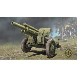 Ace Model 1:72 US 105mm Howitzer M2A1 w/M2 Gun Carriage