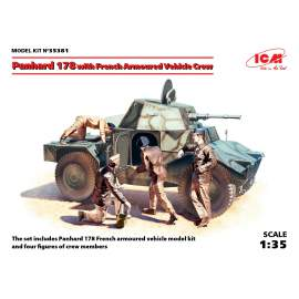 ICM 1:35 Panhard 178 with French Armoured Vehicle Crew