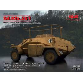 ICM 1:48 Sd.Kfz.261, German Radio Communication Vehicle