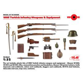 ICM - 1:35 WWI Turkich Infantry Weapons & Equipment