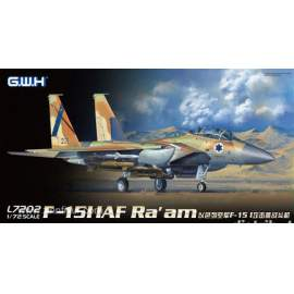 Great Wall Hobby 1:72 F-15I IAF Ra´am repülő makett