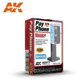 AK-Interactive - 1:24 Pay phone (telefonfülke)