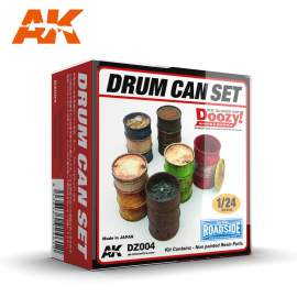 AK-Interactive - 1:24 Drum can set (fém hordó szett)