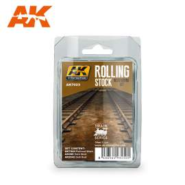 AK-Interactive - Rolling stock weathering set