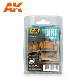 AK-Interactive - Basic dirt effects weathering set