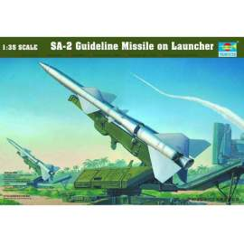 Trumpeter 1:35 SA-2 Guideline missile on launcher