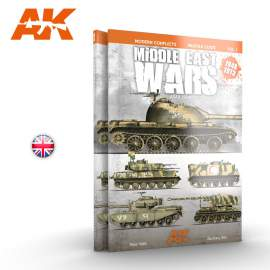 AK-Interactive - Middle East Wars 1948-1973 Vol.1 profile guide