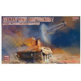 Modelcollect 1:72 WWII Rheintochter 1 movable Missile launcher with E75 bod