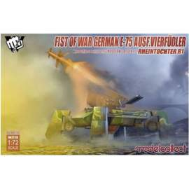 Modelcollect 1:72 Fist of War German WWII E75 Ausf.vierfub Rheintochter 1