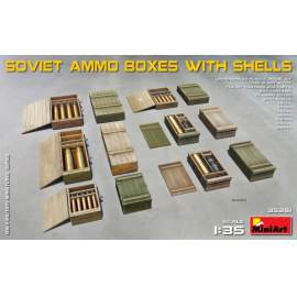 Miniart 1:35 Soviet Ammo Boxes with Shells