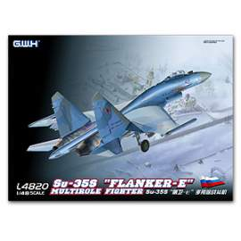 "Great Wall Hobby 1:48 SU-35S""Flanker E"" Multirole Fighter"