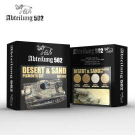 Abteilung 502 Desert and sand pigment set