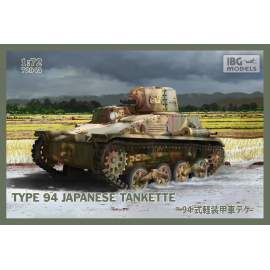 IBG Model 1:72 Type 94 Japanese tankette harcjármű makett