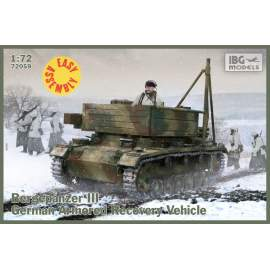 IBG Model 1:72 Bergepanzer III (EASY ASSEMBLY KIT) harcjármű makett