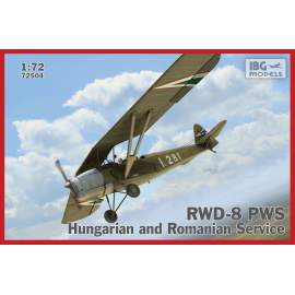IBG Model 1:72 RWD-8 Hungarian and Romanian service repülő makett