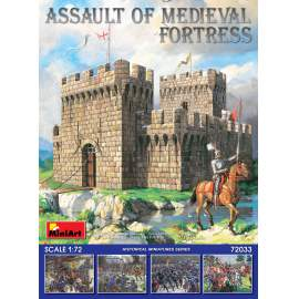 Miniart 1:72 Assault of Medieval Fortress