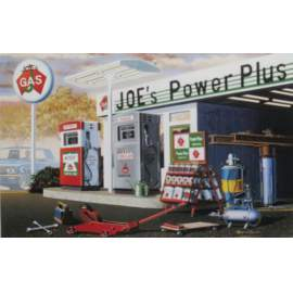 Academy 1:24 Joe´s PowerPlus Service Station