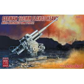 Modelcollect 1:72 German 128mm Flak40 heavy Anti-Aircraft Gun Type 2