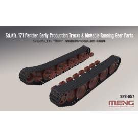 Meng Model 1:35 Sd.Kfz.171 Panther Early Tracks & Movable Running Gear