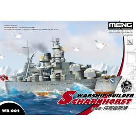 Meng Model - Warship Builder - Scharnhorst (cartoonized model kit)