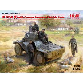 ICM 1:35 Panzerspahwagen P 204 (f) with German Armoured Vehicle Crew