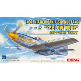 "Meng Model 1:48 North American P-51D Mustang ""Yellow Nose"""