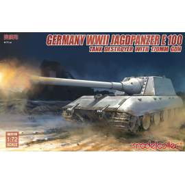 Modelcollect 1:72 Germany WWII Jagdpanzer E100 Tank Destroyer with 170mm Gu